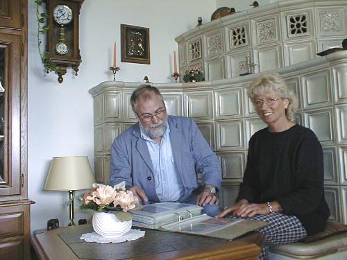 Herr Peter Hagemann und Frau Erika Hagemann