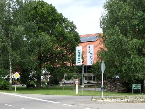 Das Firmengebäude