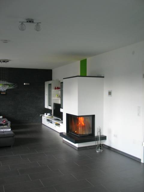 Eck-Kaminkessel 57/67/44 EOS mit Granitmaterial; 2012